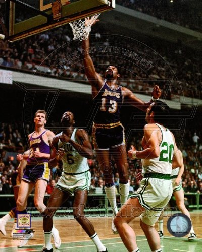 Wilt Chamberlain Los Angeles Lakers NBA Action Photo 8x10