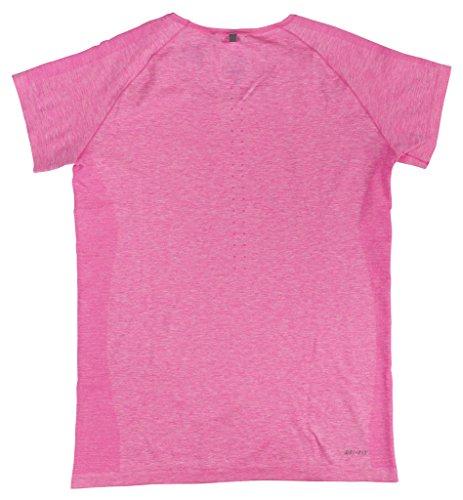 Nike Débardeur de Dri Fit Manches Courtes en tricot pour femme Rose - Noir DzvWBHC95