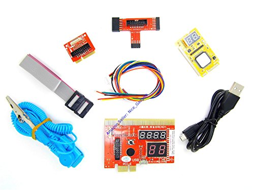 Pci Diagnostics Test Post Card (New Latest PCIe Complete Pc and Laptop Computer Motherboard Quick Repair Diagnostic Analyzer Post Test Cards Kit)