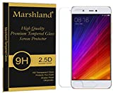 Marshland Xiaomi Mi 5s Tempered Glass Premium Smooth & Softer Tempered Glass Screen Protector 2.5D Round Edge, 0.33mm Thickness, 9H Hardness, Anti Glare, Anti Explosion, Bubble-Free, Oleo phobic Coating