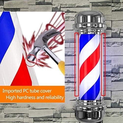 80cm LED peluquero poste ligero, tiras LED Spinning sesión pelo ...