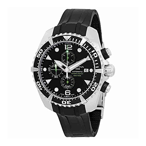 Certina DS Action Diver Chronograph Automatic Black Dial Mens Watch C032.427.17.051.00