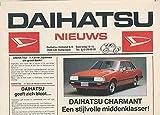 1977 Daihatsu Charmant Taft Brochure Dutch Netherlands