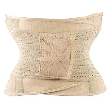 482e91a3821fc Vybio£¨TM£© Faja Miss Belt Trainer Belt Slim Waist Shapewear Women Tummy  Tuck Belt Hourglass Waist Slim Strap Modeling Girdle Waist Trainer   Amazon.co.uk  ...