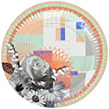 TALKING TABLES GLAMPING 8-Pack 2 Designs Glamping Plates