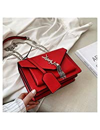 MAEKGX Flap Cute Crossbody Bags for Women Bolso de Mano para Celular,Red