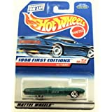 Hot Wheels - 1998 First Editions - 1963 T-Bird - Ford - #9 of 40 Cars - Die Cast - Collector #644 - Limited Edition - Collectible