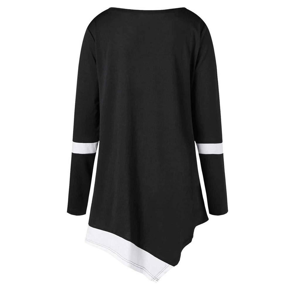 Piebo Hiver Femme Col O Ray/é Mince Rayures Thermiques Veste Patchwork Couleur Manche Longue Manteau Stripe Chaud Mode Multicoleur Tunique Grande Taille Pull Slim Irr/éguli/ère Sweat Mode Noir Blanc Top