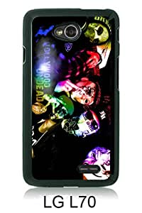 Hollywood Undead Black New Cool Custom Design LG L70 Cover Case