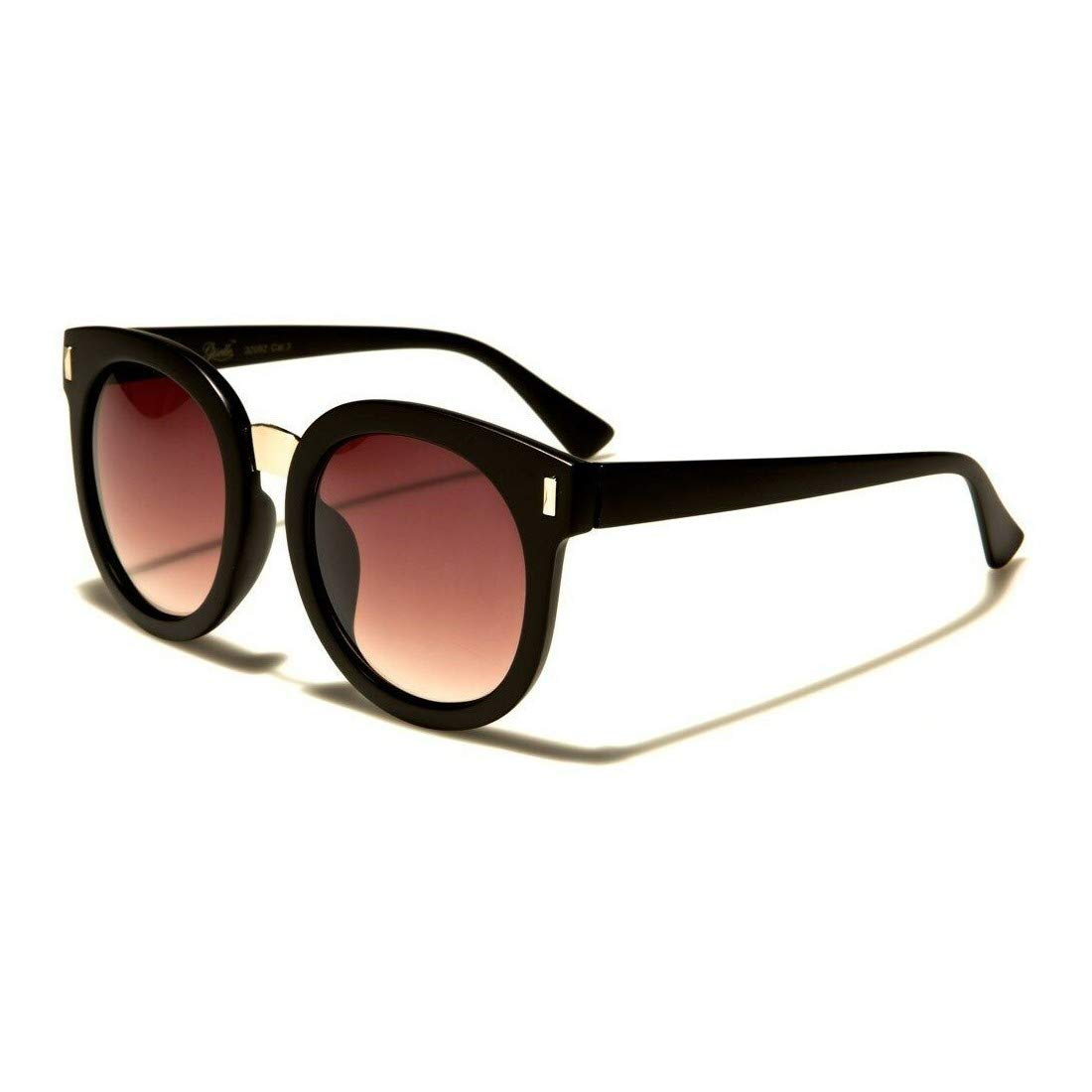 Giselle Thick Round Vintage Shaped Womens Designer Sunglasses