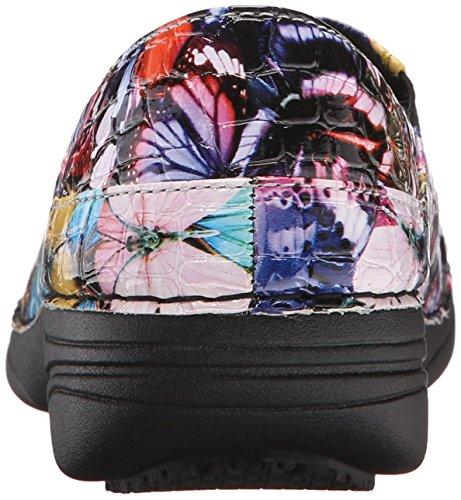 Butterfly Shoe Work Women's Spring Crocodile Ferrara Blue Multi Step fA0IB6