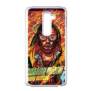 LG G2 Cell Phone Case White Hotline Miami 2 Wrong Number 6 JSK671042