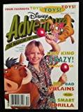 img - for Disney Adventures Lion King Crazy! (December 1994, Volume 5, Number 2) (Disney Adventures, 5) book / textbook / text book