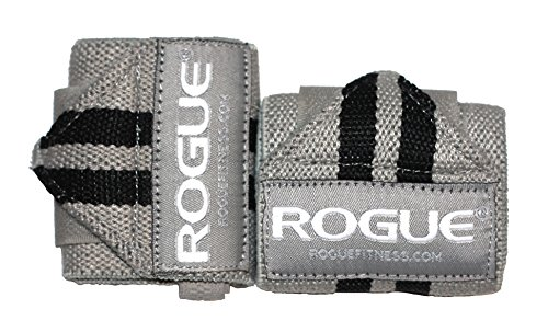 (Rogue Fitness Wrist Wraps   Available in Multiple Colors (Gray, 18))