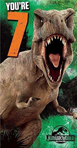 Unbekannt Tarjeta de cumpleaños Jurassic World, 7º ...