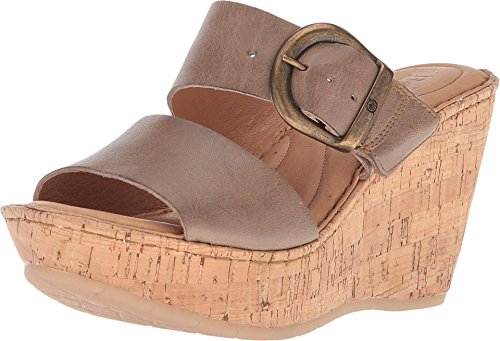 Born Emmy Band Cannoli Full Grain Leather Women's Wedge ()
