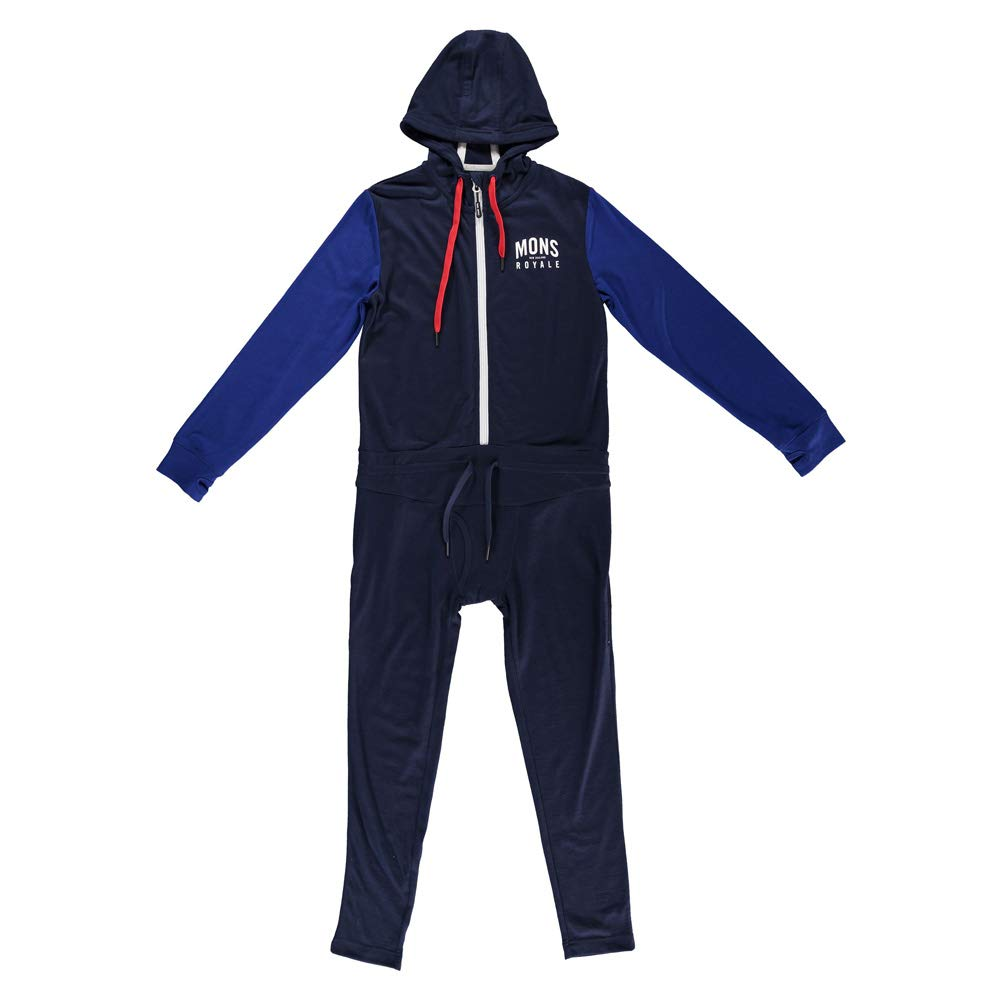 Mons Royale Boys Monsie One Piece (Navy Electric Blue, 8 9)