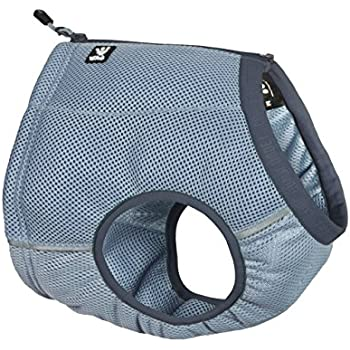 digPets Hurtta Collection Cooling Vest Harness for Pets, Medium, Blue