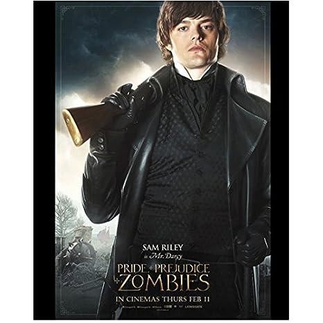 Pride + Prejudice + Zombies Sam Riley as Mr  Darcy 8 x 10
