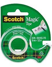 Scotch 105 Magic Transparent Tape- Refill Dispenser, 3/4 X 300 Inch