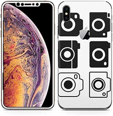 igsticker iPhone Xs Max 全面スキンシール フル 背面 側面 正面 液晶 ステッカー 保護シール 016184 カメラ