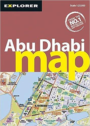 Abu Dhabi Map 3rd City Map Explorer Publishing 9789948450344