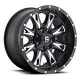 Fuel Offroad Wheels D513 20x10 Throttle 8x170 NB5.00 -12 125.2 Black Milled