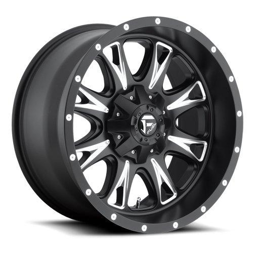 Fuel Offroad Wheels D513 20x10 Throttle 8x170 NB5.00 -12 125.2 Black Milled