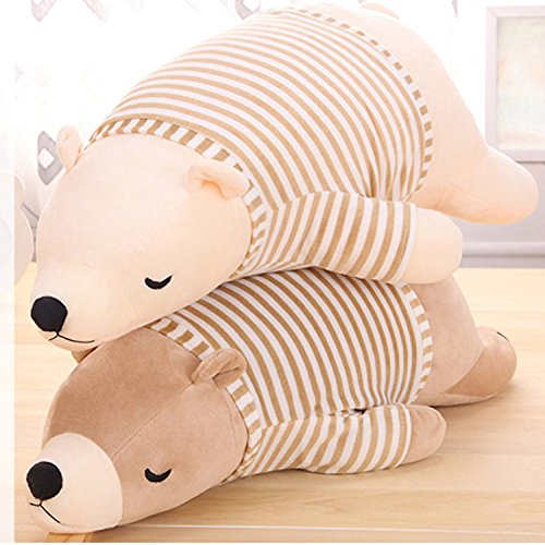 US Stock 50cm Polar Bear Soft Stuffed Toy Stuffed Doll Nano Doll Cute Love Plush Toy For Lovers And Kids - Malls Orlando Near Florida