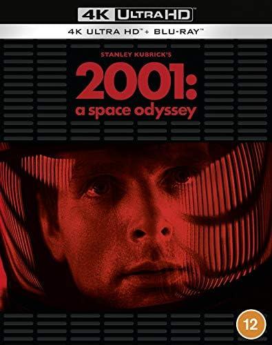2001 A Space Odyssey [1968] [Blu-ray] [Region Free]