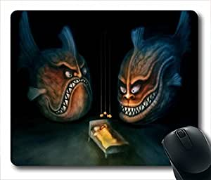 EVIL FISH NIGHTMARE Unique Custom Mouse Pad Gaming Mousepad in 220MM*180MM*3MM -213075