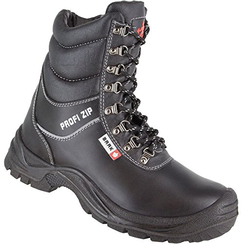 Baak Winter magnus Professional Safety Boots Black S3 Zipper8524 g76ybf