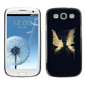 LECELL -- Funda protectora / Cubierta / Piel For Samsung Galaxy S3 I9300 -- Creepy Scary Skeleton Skull --