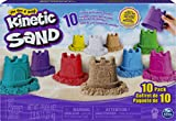 Kinetic Sand, Castle Containers 10-Color Pack for