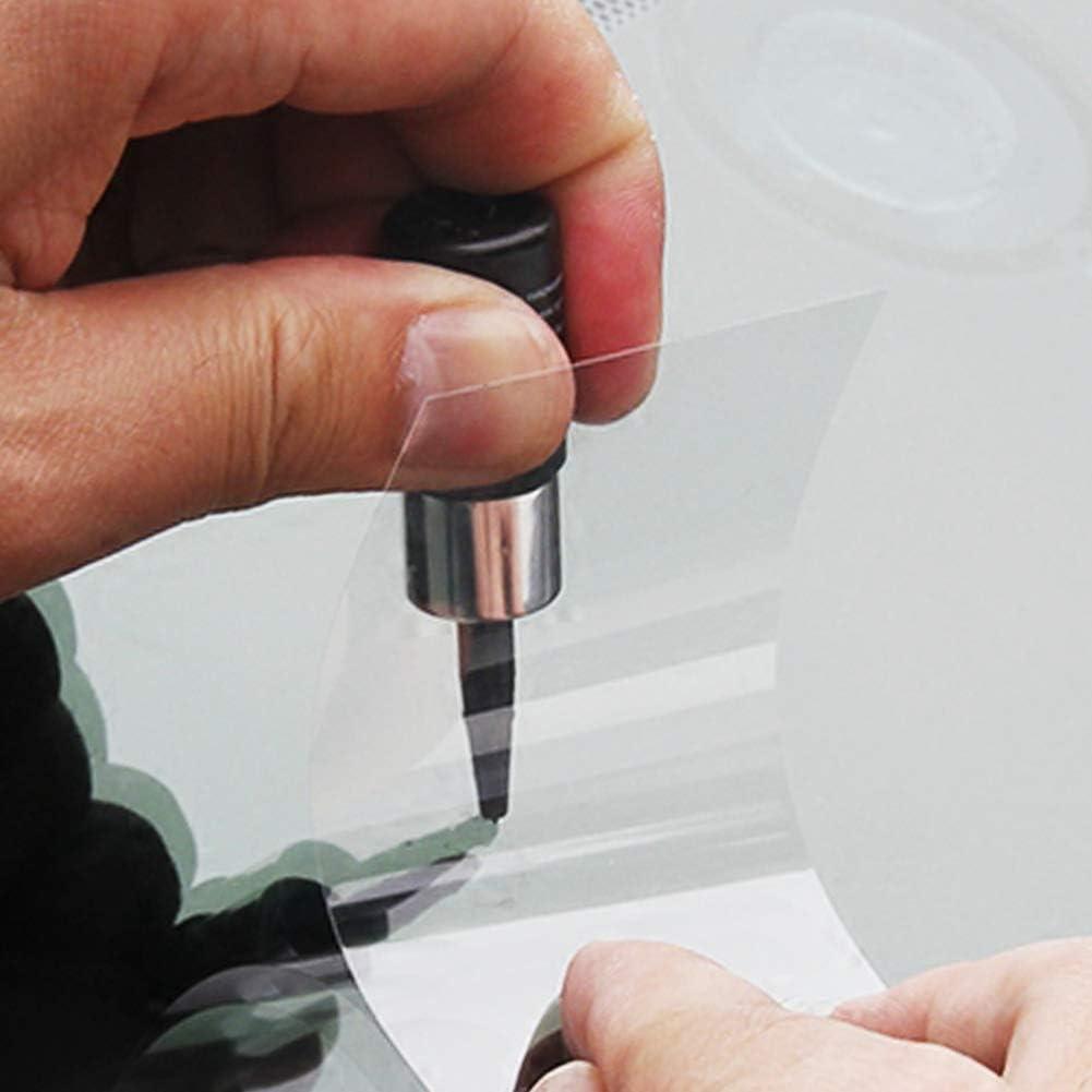 MOOHOP Kit di Strumenti di Riparazione del Vetro della crepa del Vetro della Finestra di Automobile fluida di Riparazione automobilistica del Vetro con la Resina di Riparazione del Parabrezza