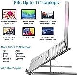 Gshine Laptop Stand, Multi-Angle Adjustable