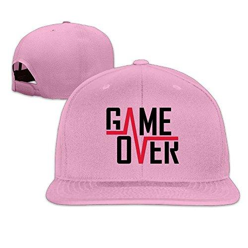 MaNeg Game Over Unisex Fashion Cool Adjustable Snapback Baseball Cap Hat One - Mens Prada Online Shirts