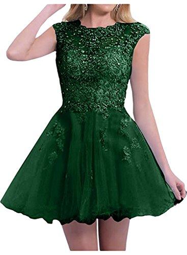 Braut Marie Partykleider Kurzes Damen Abendkleider Abschlussballkleider Tanzenkleider La Gruen Festlichkleider Dunkel Bqawq