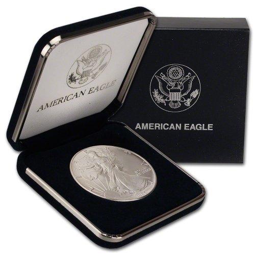 1986 American Silver Eagle $1 Gift Box U.S. Mint (1986 Silver Eagle)