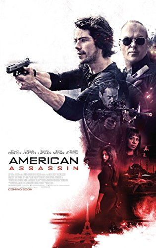 07f063e4f9 AMERICAN ASSASSIN (2017) Original Authentic Movie Poster 27x40 - Final -  Single-Sided