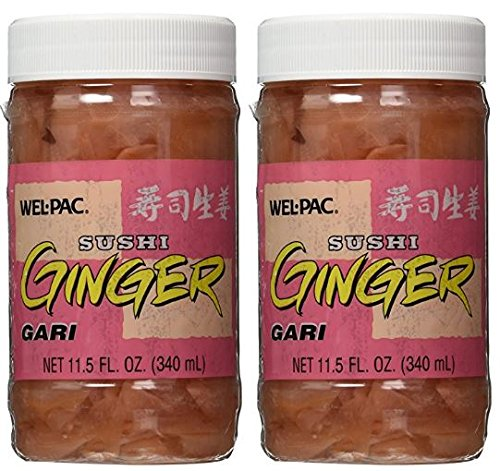 Sliced Pickled Ginger - Net Wt. 11.5 FL. OZ (Pack of 2)