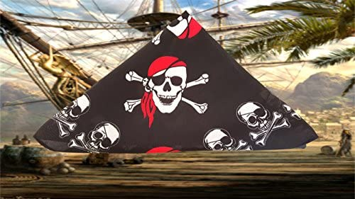 toys, games, dress up, pretend play,  pretend play 3 discount Playscene Pirate Bandana's for Children or Adults in USA