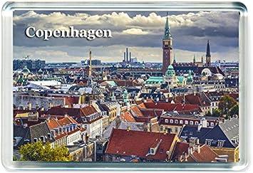 Im/án para Nevera Dinamarca Denmark Travel Fridge Magnet GCT I396 Copenhagen Jumbo im/án de refrigerador