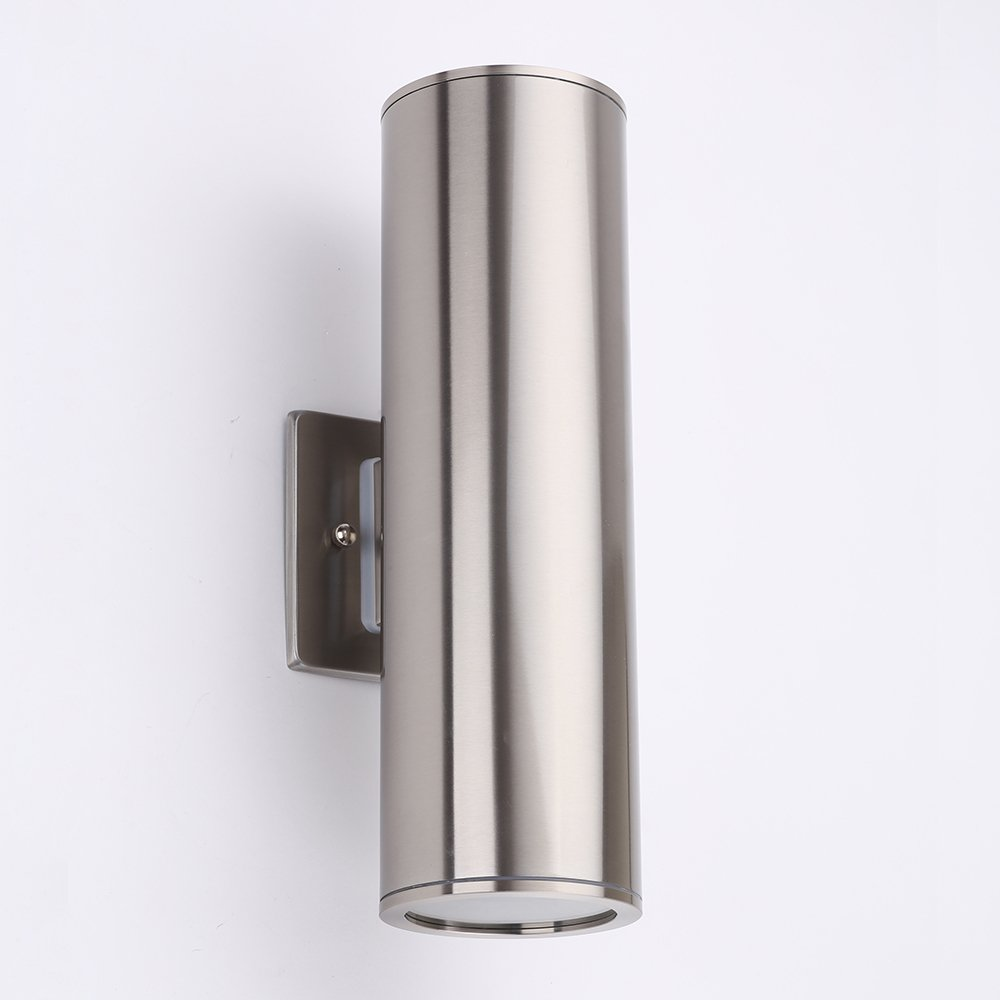Outdoor Cylinder Light   Housen Solutions Waterproof Porch Light Wall Light  Fixture, Stainless Steel 304 Wall Sconce, UL Listed, Ideal For Garden And  Patio
