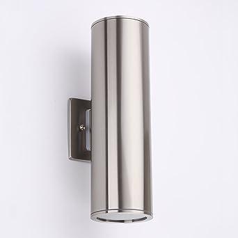 Delightful Outdoor Wall Lamp   Housen Solutions Waterproof Porch Light Modern Wall  Sconce Light Fixture, Stainless