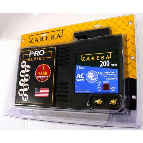 Zareba Eac200m Z Ac Powered Low Impedance 200 Mile Range