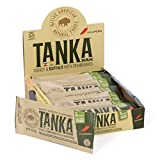 Meat Bar with Buffalo and Cranberries by Tanka, Jalapeno, Beef Jerky Alternative, Gluten Free Snacks, 1 Ounce Bar, Pack of 12.