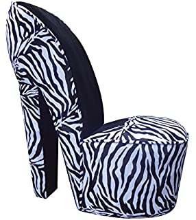 Charmant ViscoLogic Series High Heel Shoe Style Fashionable Office Reception,  Waiting And Lounge Accent Chair (