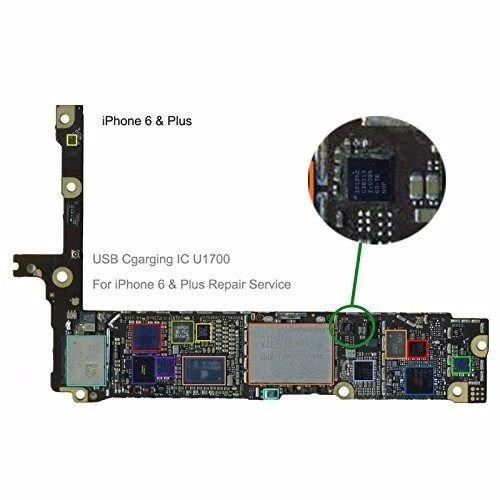 wholesale dealer c06c0 5f966 RHKSHOP URBAN X Charging USB IC U2 Chip for iPhone 6: Amazon.in ...