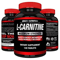 L-Carnitine 1000mg Servings 120 Tablets ...